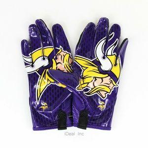 Nike Accessories - Nike Vapor Knit Minnesota Viking Gloves PGF397-181